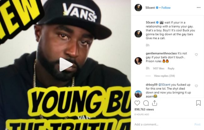 Billiger Preis authentisch limitierte Anzahl 50 Cent tells Young Buck: 'If you're in a relationship with ...