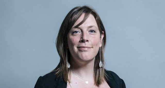 Jess Phillips condemned the protests on social media (Wiki Commons)