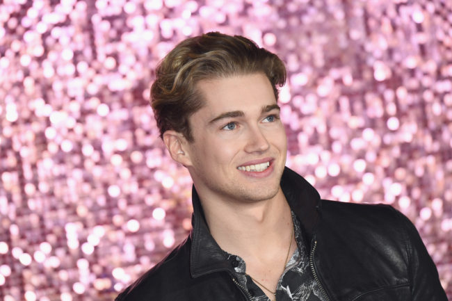 AJ Pritchard attends the World Premiere of 'Bohemian Rhapsody' at SSE Arena Wembley on October 23, 2018 in London, England