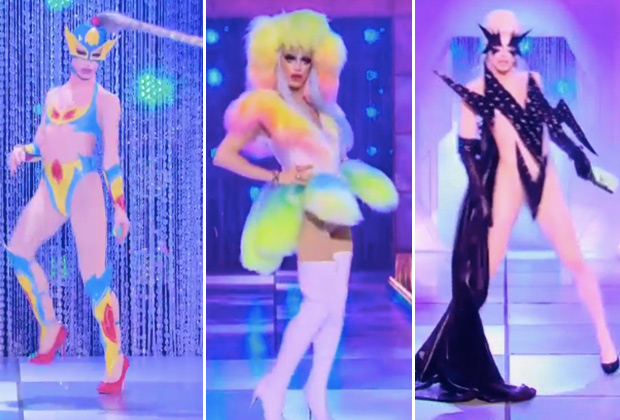 Drag Race season 10 winner Aquaria wins her ball challenge.