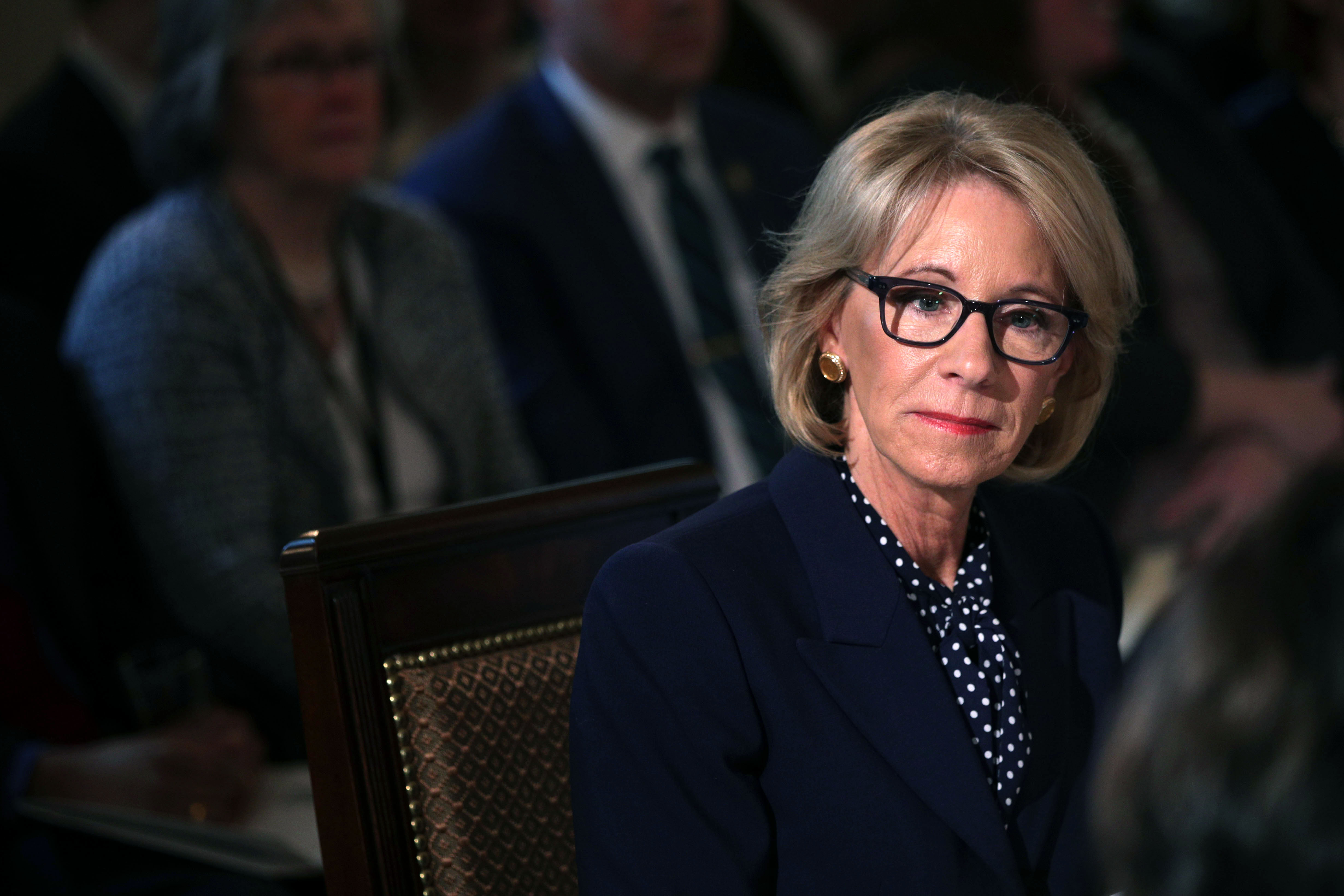 9ebdbe8ced0b3 Reader comments · Betsy DeVos won't say if it's OK for schools to ...