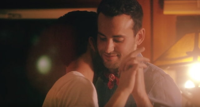 "Country singer Cameron Hawthorn came out as gay in the video for ""Dancing in the Living Room"""