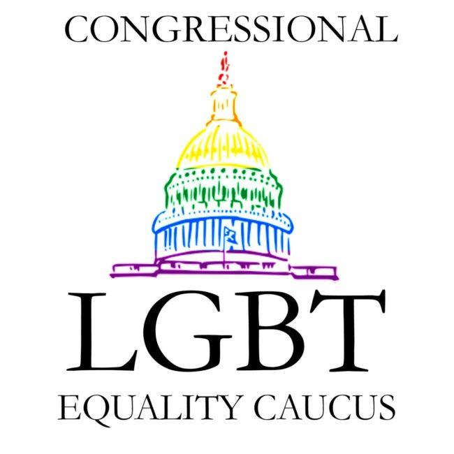 The logo of the Congressional LGBT Equality Caucus