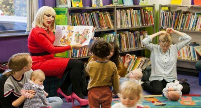 A Drag Queen Storytime event. (Facebook/Drag Queen Storytime)