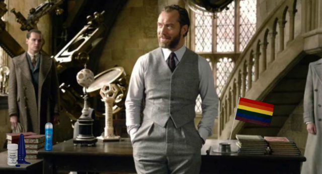 Gay Dumbledore memes after JK Rowling reveals 'passionate' sex life