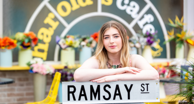 Georgia Stone will be the first trans character to appear on Neighbours. (10 Peach)
