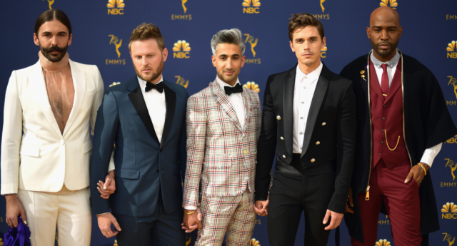 tan france found his first gay friends in the queer eye cast pinknews pinknews. Black Bedroom Furniture Sets. Home Design Ideas