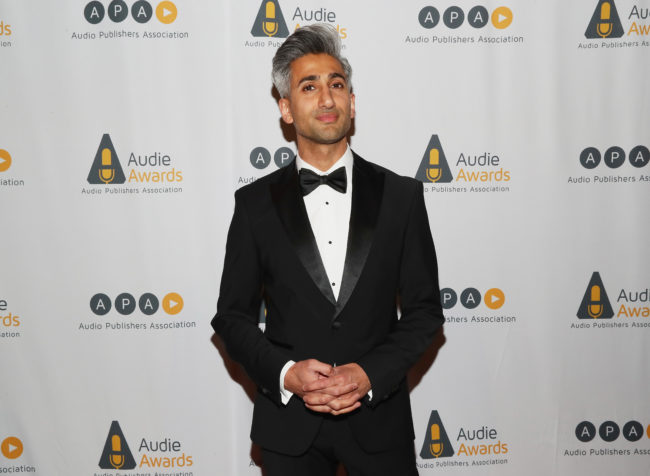 Tan France, style expert on Queer Eye, hosts the 2019 Audie Awards at Gustavino's on March 4, 2019 in New York City.