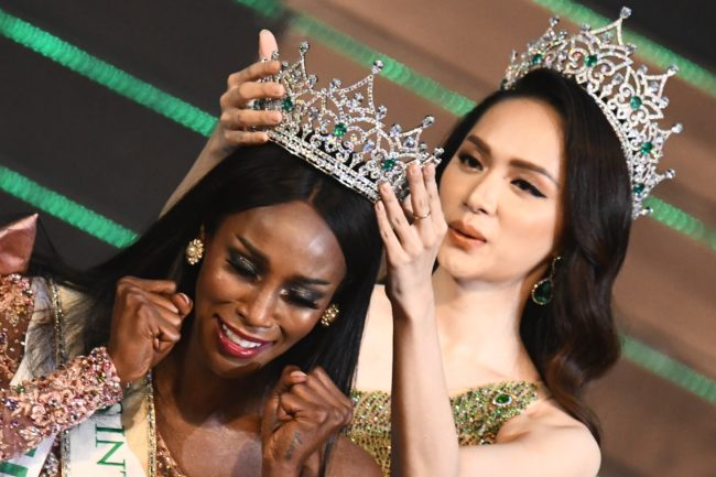 American Jazell Barbie Royale wins Miss International Queen