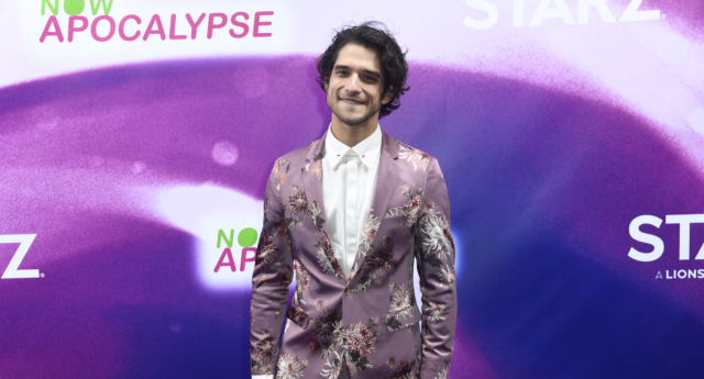 Tyler Posey attends the premiere of 'Now Apocalypse' in which he plays a gay character for the first time. (Frazer Harrison/Getty)