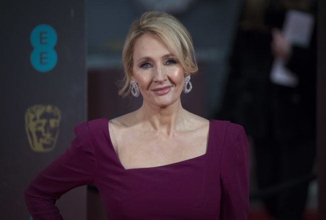 J.K. Rowling is an inspirational woman icon for International Women's Day