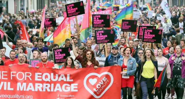 Northern Ireland equal marriage activists: UK government 'doesn't care'