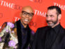 RuPaul and husband Georges LeBar attend the TIME 100 Gala celebrating its annual list of the 100 Most Influential People In The World at Frederick P. Rose Hall, Jazz at Lincoln Center on April 24, 2018 in New York City. (Photo by ANGELA WEISS / AFP)