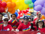 Attendees take part in the Tokyo Rainbow Pride Parade in 2018 (Tomohiro Ohsumi/Getty Images)