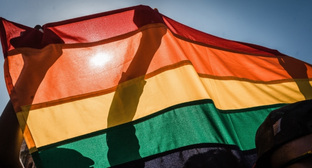 LGBT+ campaigners in Botswana present arguments to the High Court in favour of the  decriminalisation of gay sex. (Rajesh Jantilal/AFP/Getty)