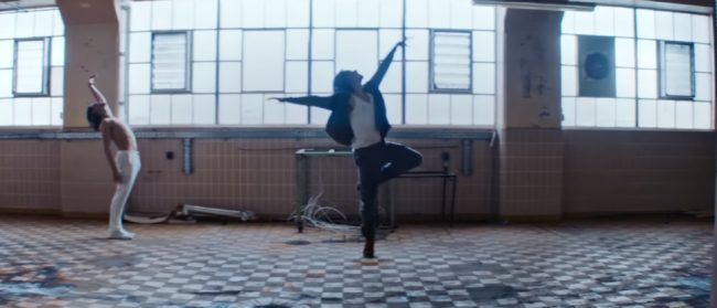 "Dancer Sergei Polunin in the video for Hozier track ""Movement"""