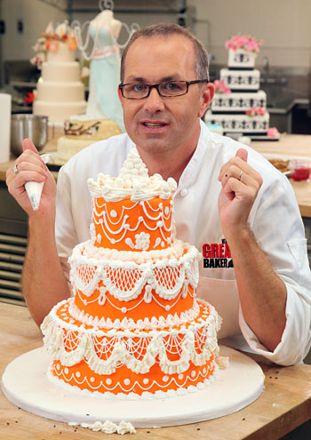 Jay Qualls on TV show The Next Great Baker