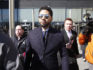 Actor Jussie Smollett leaves the Leighton Courthouse after his court appearance on March 26, 2019 in Chicago, Illinois. (Nuccio DiNuzzo/Getty)