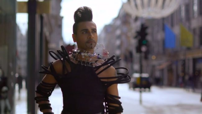 Jay Kamiraz appears on All Together Now as 'Mr Fabulous'