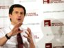 South Bend, Indiana Mayor Pete Buttigieg, who is exploring a Presidential candidacy speaks at the University of Chicago on February 13, 2019 in Chicago, Illinois. (JOSHUA LOTT/AFP/Getty)