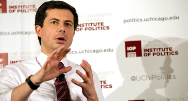 Gay Presidential hopeful Pete Buttigieg is rising in the polls