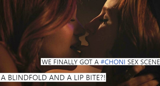 Cheryl and Toni got intimate on Riverdale this week. (Riverdale and Twitter)