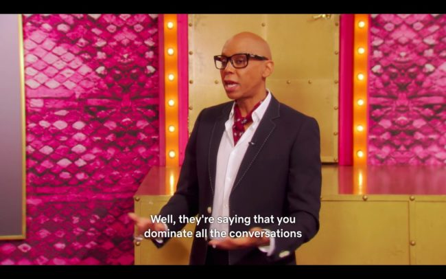 RuPaul returns for it's second episode.