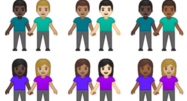 Tinder has managed to get interracial same-sex couple emojis on phones (Unicode Consortium)