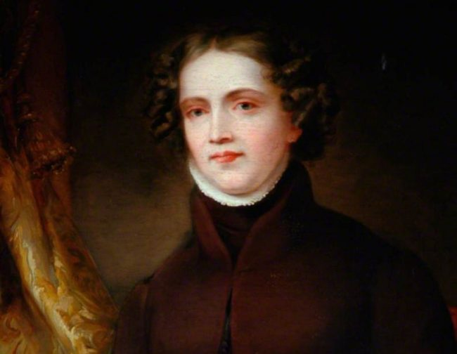 A portrait of Britain's 'first modern lesbian,' Anne Lister.