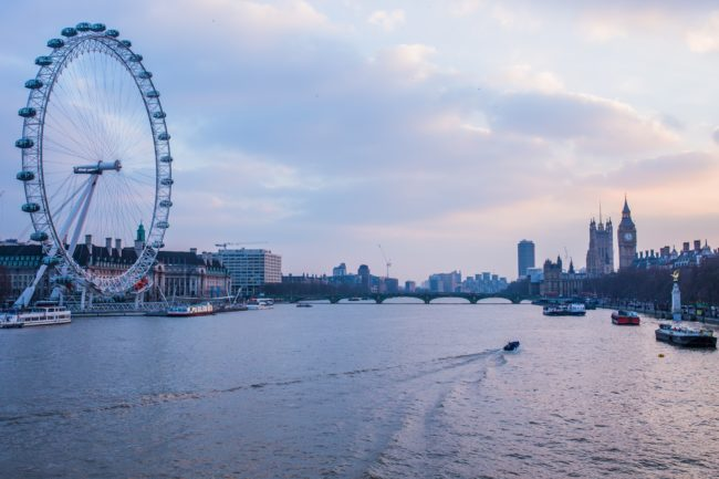 Boat cruise trip in London Thames