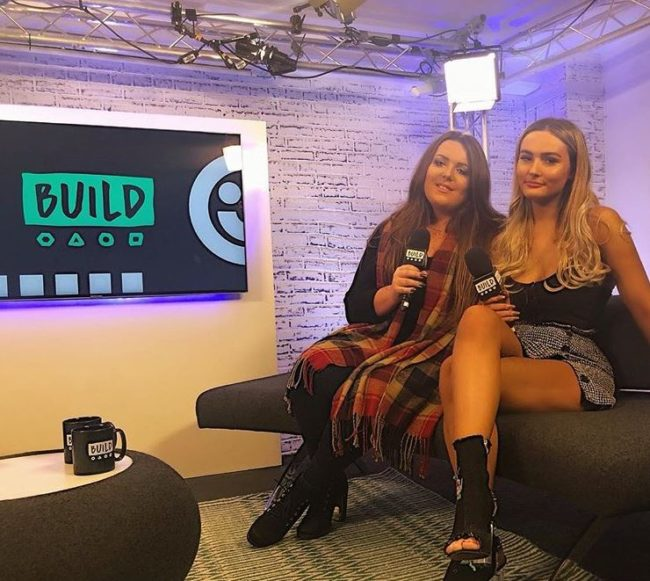 Cambell recently appeared on BUILD Series LDN with Genderquake co-star Brooke Moore (@cambellkenneford / Instagram)