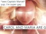 Many people think that Captain Marvel was for LGBT+ people. (Marvel and Twitter)