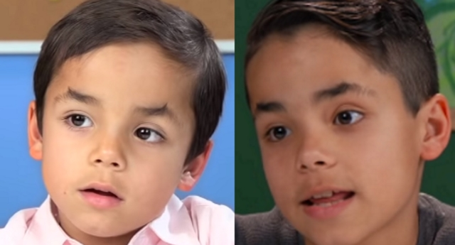 Kids React star Lucas Daniel Vazquez has come so far with his views. (FBE/youtube)