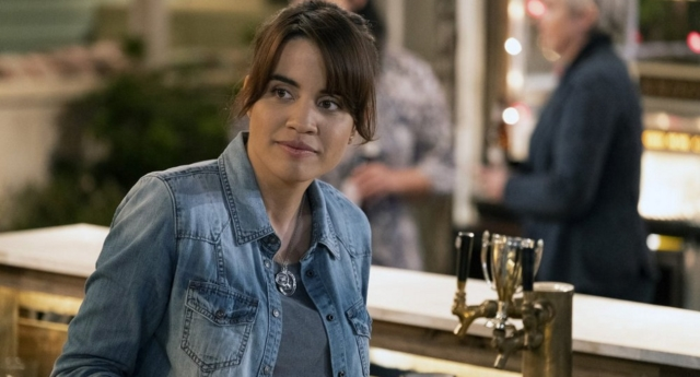 Natalie Morales assured viewers that former Marine Abby is a well-rounded character. (NBC)