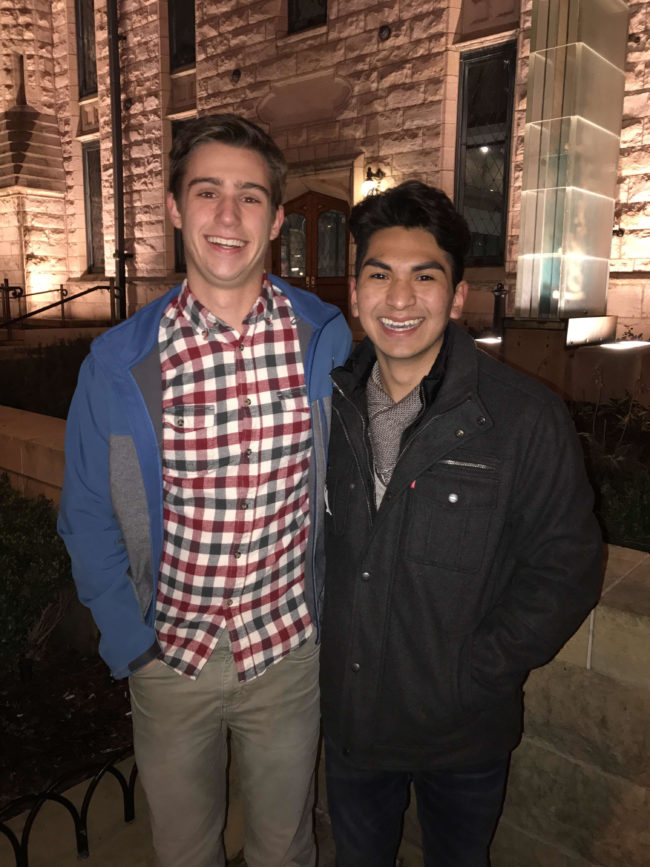 Evan will accompany Pedro to senior prom in their Tennessee high school.