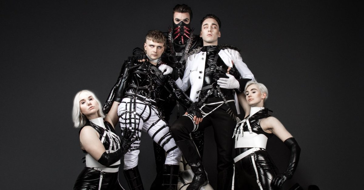 "Iceland picked ""industrial BDSM band"" Hatari as its Eurovision entry. (Hatari/Facebook)"