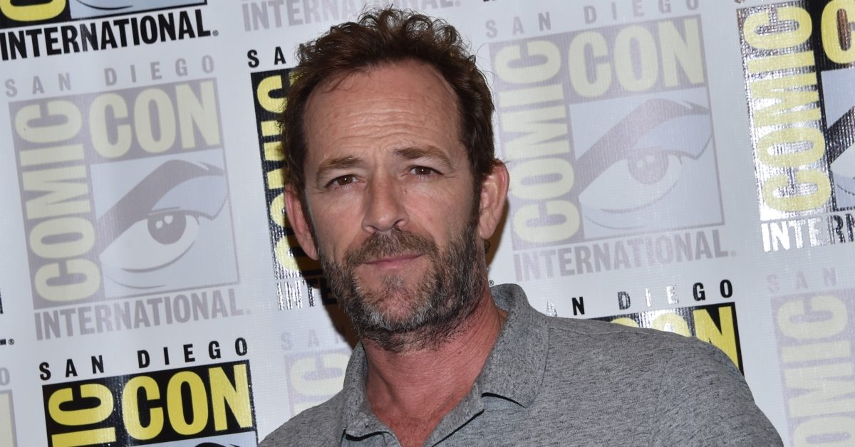 Actor Luke Perry has died aged 52 on March 4, 2019. (Chris Delmas/AFP/Getty)