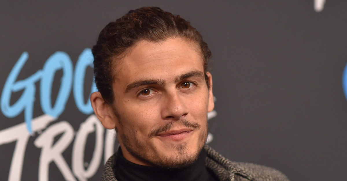 Actor Tommy Martinez plays bisexual character Gael Martinez in Freeform's Good Trouble. (LISA O'CONNOR/AFP/Getty)