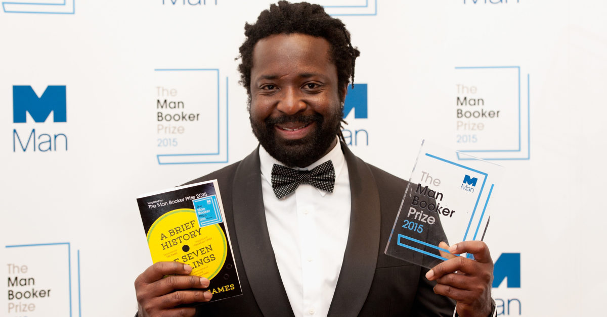 Marlon James won the 2015 Man Booker Prize for 'A Brief History of Seven Killings.' (Eamonn M. McCormack/Getty)