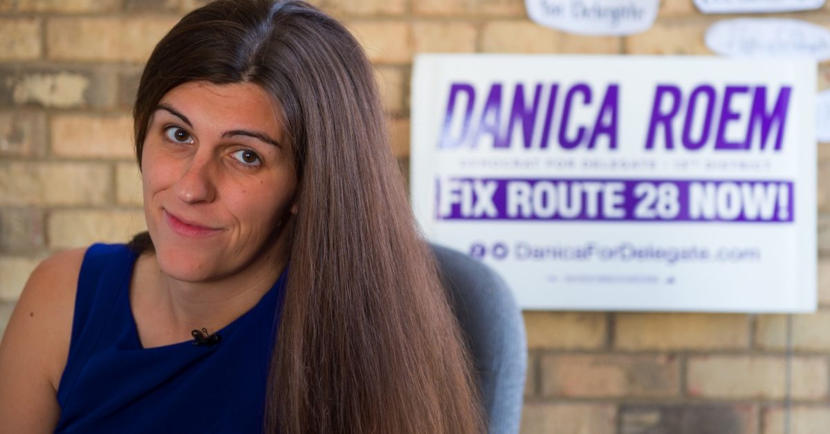 Virginia delegate Danica Roem raised more than $26k after being targeted by the Westboro Baptist Church. (Paul J. Richards/AFP/Getty)