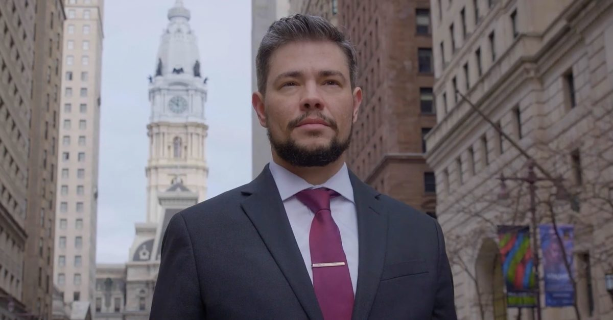 Henry Sias wants Philadelphians to vote for him on May 21. (henrysias4judge/Twitter)
