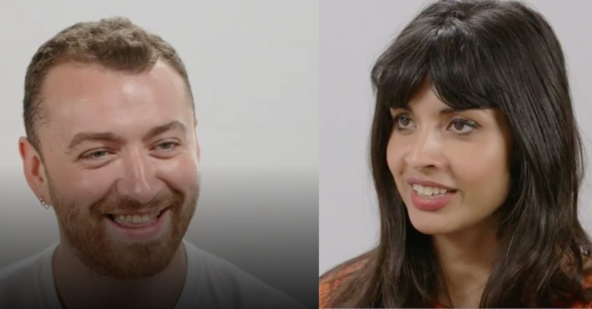 Sam Smith came out as non-binary and genderqueer during an interview with Jameela Jamil. (jameelajamilofficial/Instagram)