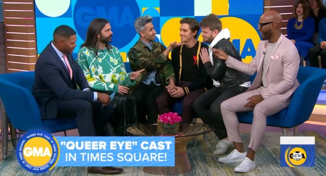 Queer Eye hero surprises the Fab Five on Good Morning America