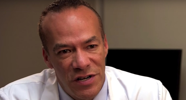 Dr. Christopher J Salgado, who specialises in gender confirmation surgeries, was fired after the allegations came to light. (tlc/YouTube)