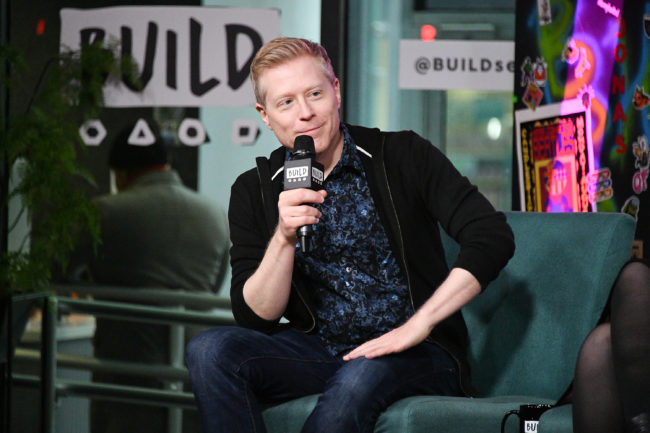 """Anthony Rapp (Lieutenant Paul Stamets) visits Build to discuss """"Star Trek: Discovery"""" at Build Studio on January 16, 2019 in New York City."""