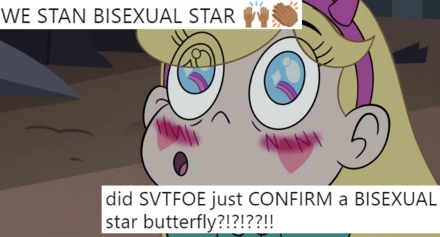 Star vs. the Forces of Evil fans were ecstatic about the apparent revelation. (Disney)