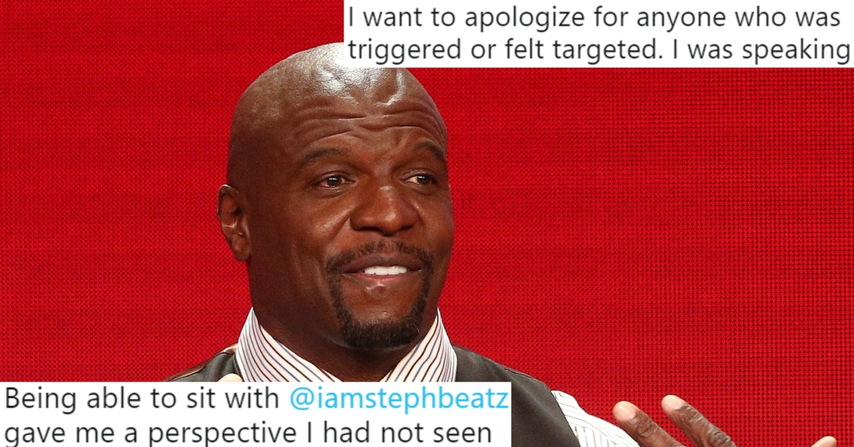 Terry Crews Apologises For Calling Kids With Gay Parents