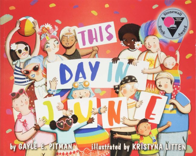 """""""This Day in June"""" by Gayle E. Pitman joined a John Oliver book on the most-banned book list"""