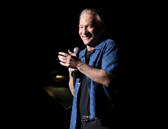 Bill Maher performs during New York Comedy Festival at The Theater at Madison Square Garden on November 5, 2016
