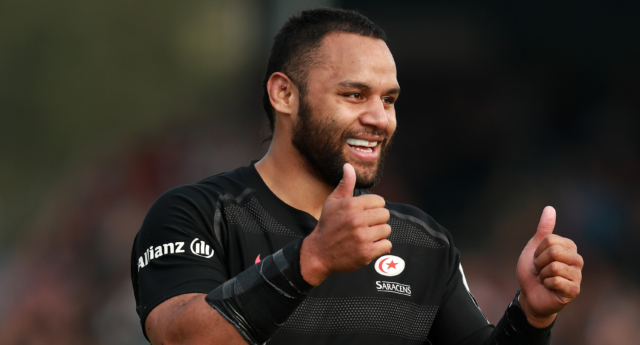 Billy Vunipola of Saracens (David Rogers/Getty Images)